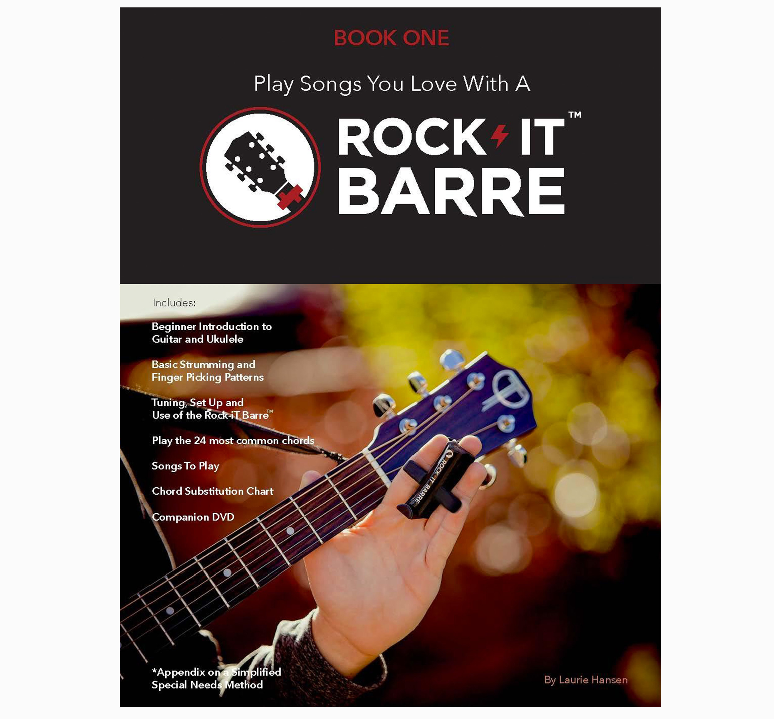 Rock It Barre Guitar Chord Device Beginner Package